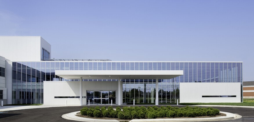 Westlake Reed Leskosky's design for the Cleveland Clinic in Brunswick, Ohio.