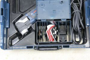 Most kits include a separate accessory storage box similar to the one in this Bosch case.