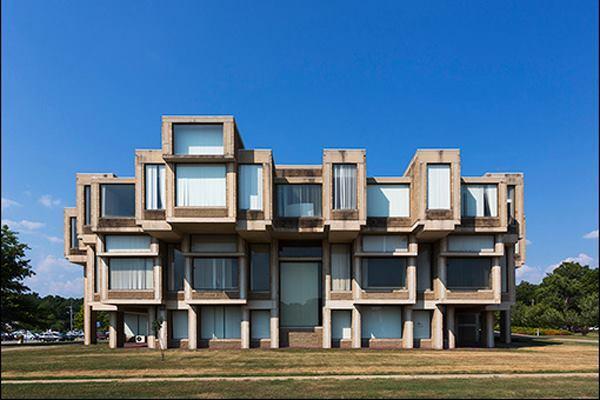 Orange County Government Center, Goshen N.Y., by Paul Rudoph
