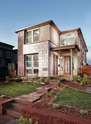 With 6 feet between houses, the 21 1/2–foot-wide units live like detached townhomes. </p><br /><br /><br /><br /><br /> <p>