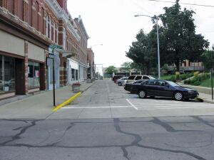 Court Ave. in downtown Bellefontaine, Ohio.