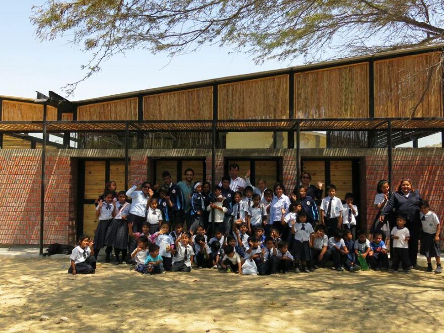 The Santa Elena de Piedritas School in Piura, Peru.