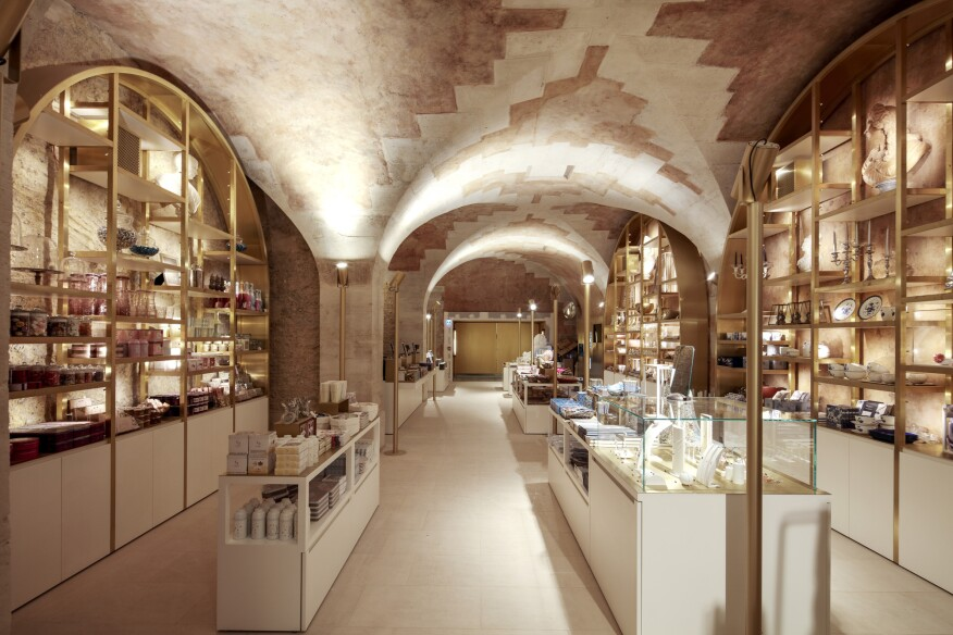 The new museum shop