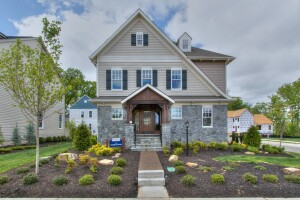 The PureBlue Home in Bristow, Va., is designed to be ultra energy- and water-efficient.