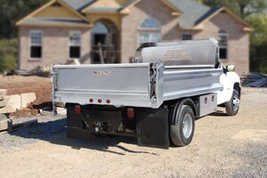 A-Tipper aluminum dump body