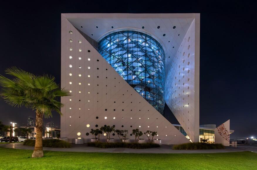 The green planet architect magazine grout mctavish for Architecture firms in dubai