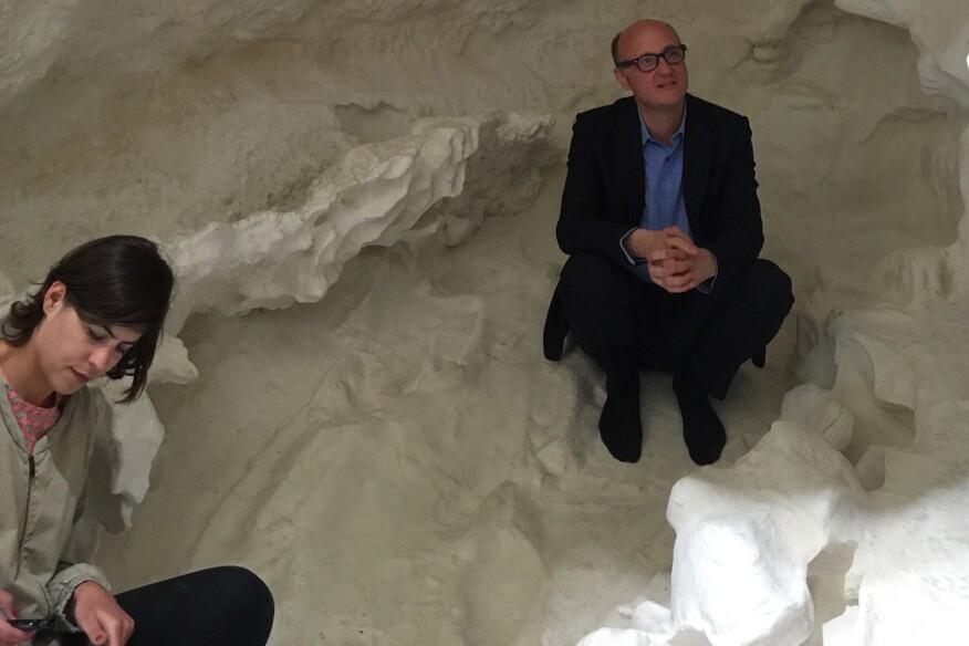 Swiss Pavilion at the 2016 Venice Biennale, by Christian Keretz