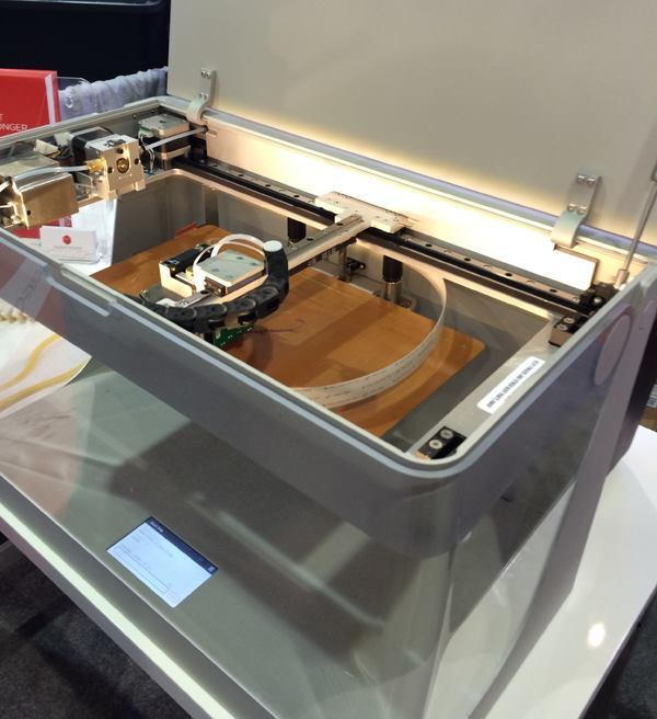 Under the hood of the Mark One printer from Somerville, Mass.-based startup MarkForged.