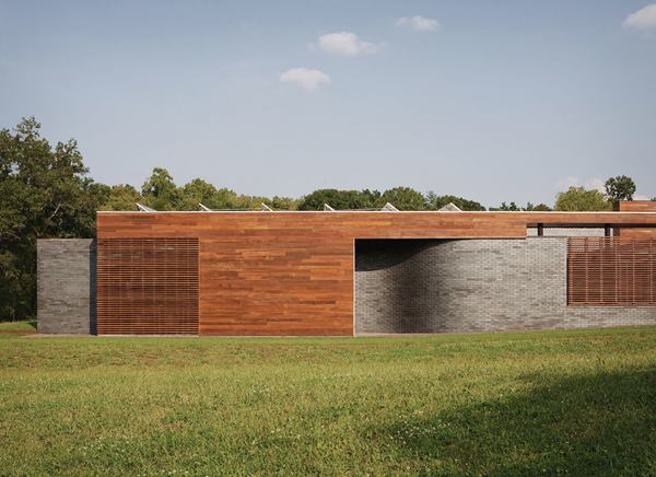 Curved House Residential Architect Hufft Springfield