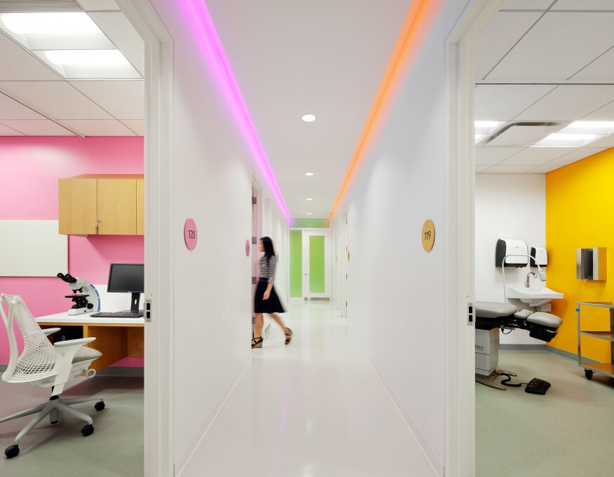 Light Color And Architecture Are Woven Together To Create A Comfortable Friendly Environment