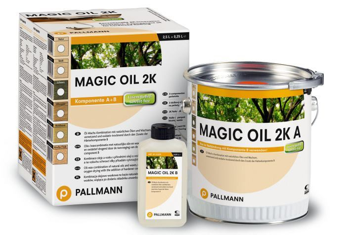 Get a Fine Finish with Magic Oil 2K