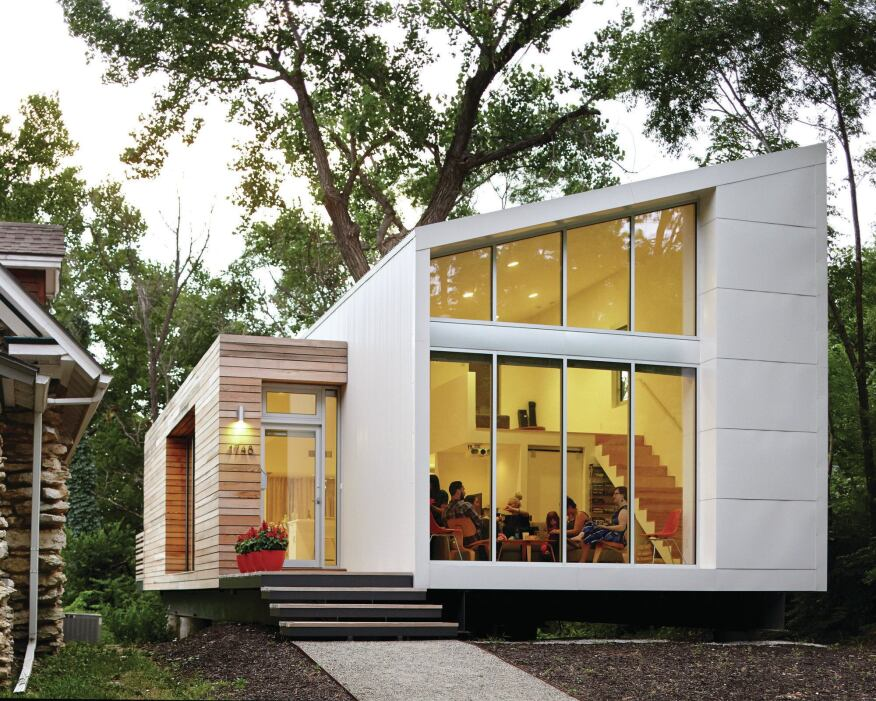 The Madison Residence, in Kansas City's Westside, won a 2013 AIA|KC Honor Award.