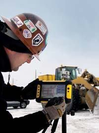 Walsh recently bought Trimble tablets data collectors, enabling them to go paperless.