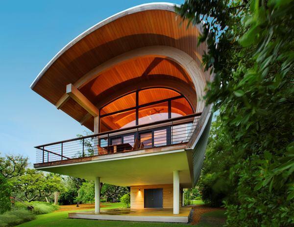 Casey Key Bay House in Casey Key, Florida.