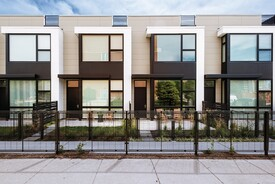 Geometric Row House Development Blends Market-Rate With Affordable