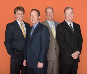 Left to right: Frank Connors, CFO; Bob Youngentob, president; Terry Eakin, chairman; and Andy Warren, COO.