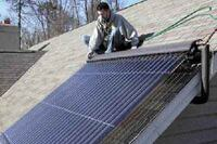 Installing a Vacuum-Tube Solar Collector
