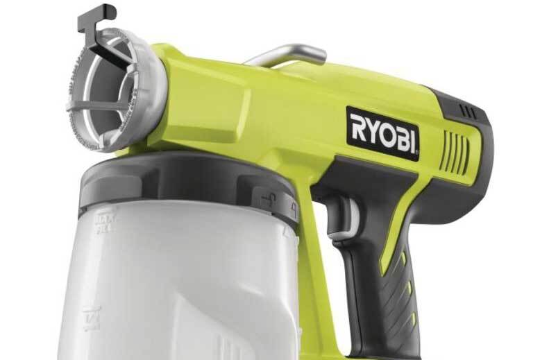 Straight Shooter: Ryobi One+ Power Paint Sprayer