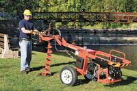 General Equipment 660 Dig-R-Mobile auger