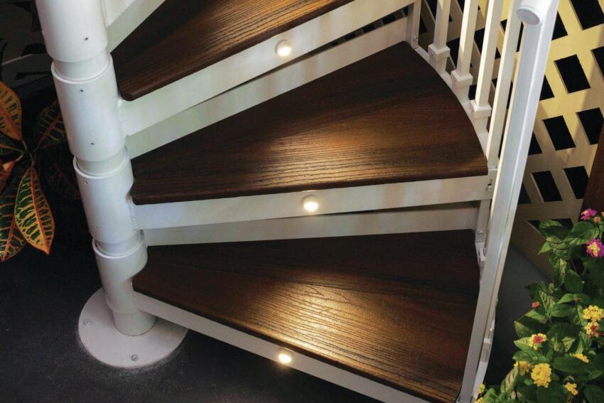 Trex Spiral Stairs