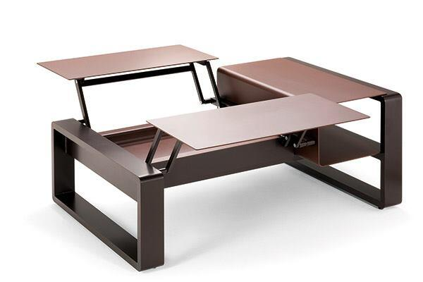City dwellers fortunate to have a backyard rarely have enough room for furniture. This space-saver from Ego Paris does double duty by acting as a low coffee table and as a dining table. The Corian or aluminum tabletop comes in eight colors, while the lacquered aluminum frame comes in 20 colors. The 129cm-long piece is 54cm wide when closed and 62cm when completely opened. furniture-egoparis.com