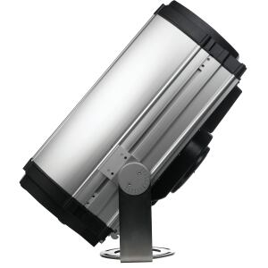 Martin Architectural  www.martin-architectural.com  Takes a 1,200-watt metal halide lamp  CMY system allows for blending of many colors; more are available with an optional four-color wheel  Light output can illuminate buildings up to nine stories  DMX controllable from an external controller or PC
