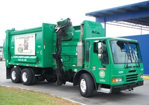 Technicians save $5,000 each time they rebuild a mechanical pick-up arm in-house. Photo: Houston Solid Waste Management Department