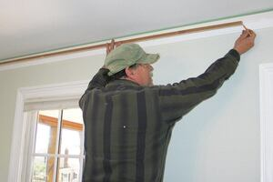 Solo Installation of Crown Molding