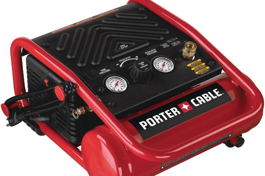 Porter-Cable's C1010 Trim Compressor