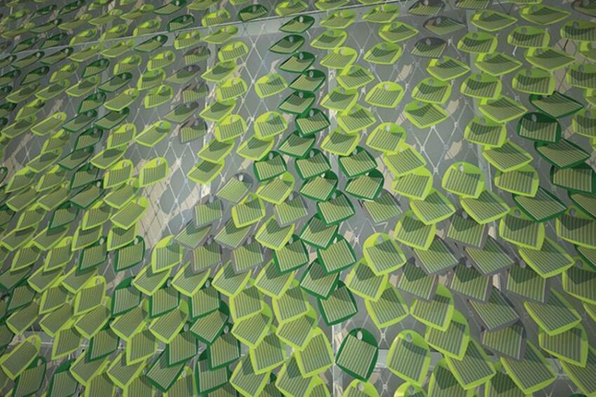 A New Leaf: Solar Ivy Thin-Film Photovoltaics