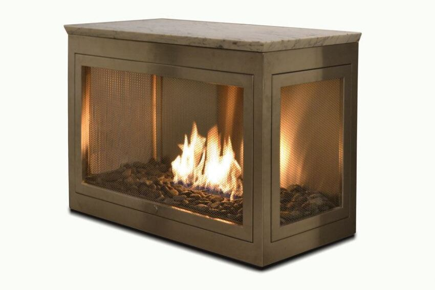Ventless Firebox From Hearth Cabinet