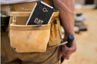 Caterpillar Introduces Phone that Can Stand Up to the Jobsite