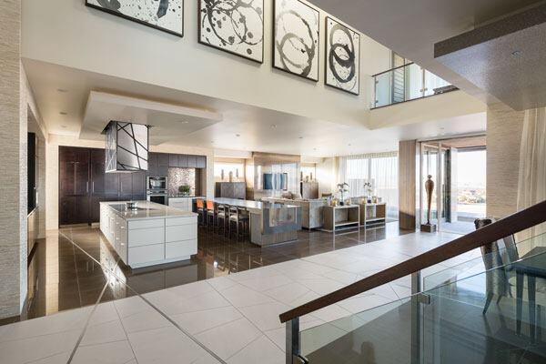 New American Home interior.