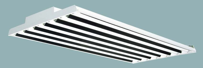 LHR4-632 linear fluorescent fixture from Columbia Lighting