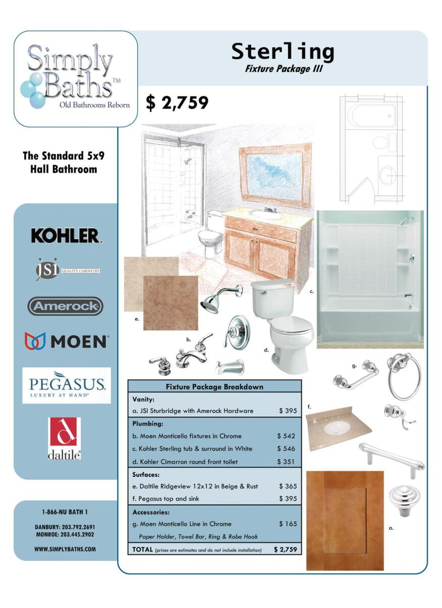Bath Collections Bath Packages Meet Need For Cost