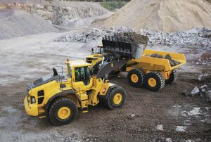 Intelligent hydraulics Volvo's load-sensing hydraulics supply power to the hydraulic functions according to demand, lowering fuel consumption