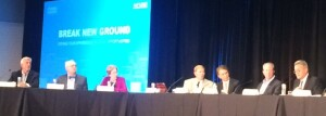 Affordable housing executives participate on the State of the Industry panel at AHF Live in Chicago.