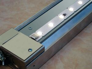 The DLED 6200 from Dreamscape Lighting is a high-power LED light channel featuring better efficiency, color rendition, and thermal management. The light channel has an output of 650 lumens per foot, a CRI of 80, and a color temperature of 2,700 K. It consumes fewer than 15W per foot and has a 35,000-hour expected life. The DLED is completely dimmable and its board has phosphor stability built into every LED to provide accurate color. It also features junction temperatures below 140 F for a long lifespan. dreamscapelighting.com