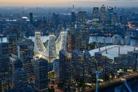 Santiago Calatrava Releases Designs for Peninsula Place in London
