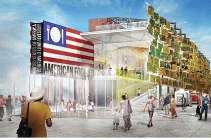 Milan Expo 2015: United States of America