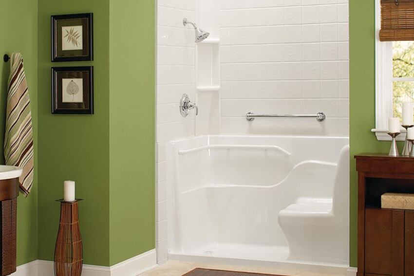 American Standard Seated Safety Shower