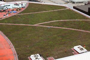 Target Center Installs Green Roof