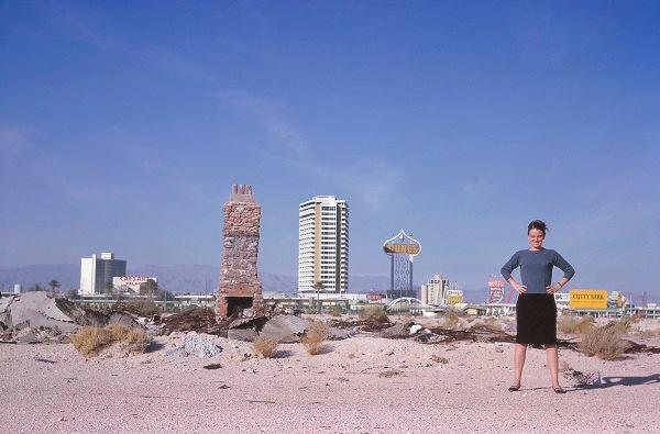 Scott Brown in Las Vegas, 1966.