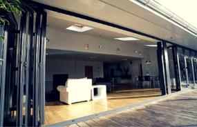 Steel Bi-folding Windows and Doors