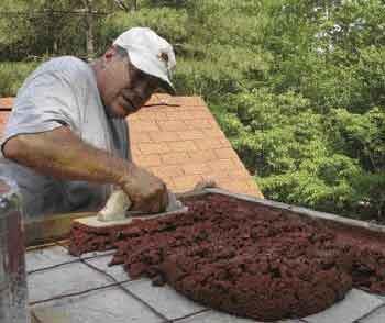 Replacing A Leaking Chimney Cap Jlc Online Masonry