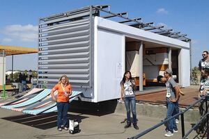 First-Day Highlights from the 2013 Solar Decathlon