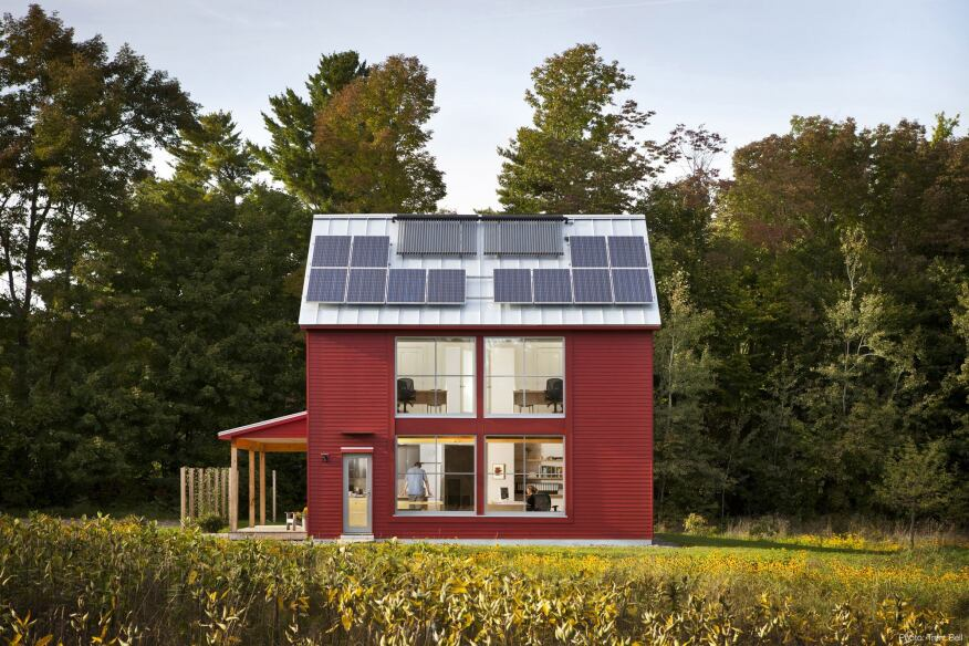 The GO Home is Maine's first Passive House-certified project.