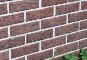 New composite thin brick wall panels have a recycled content of up to 85%.