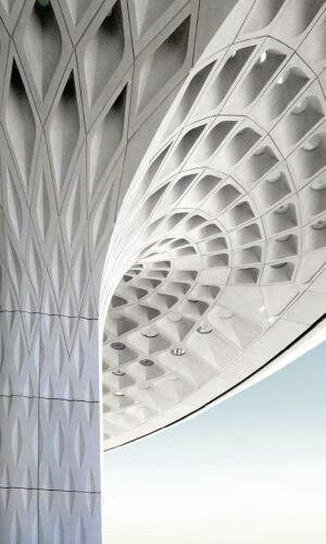 When Coffers Cover The Ceiling And Columns Architect
