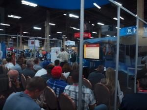 Attendees took advantage of educational seminars at the PSP Expo